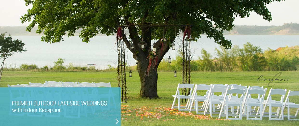 Fort Worth and Dallas Out Door Weddings.